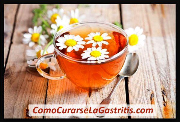 Manzanilla para la Gastritis
