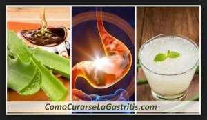 Curar la Gastritis con Sabila