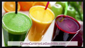 Jugos para la Gastritis