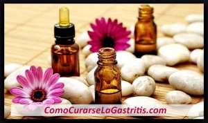Aceites Esenciales para la Gastritis