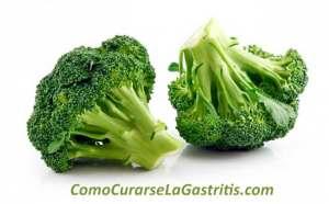 Brócoli para curar la gastritis