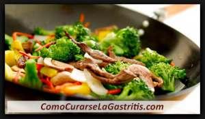 Que Comer si tengo Gastritis