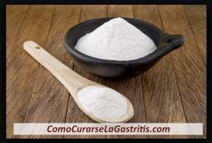 como curar la gastritis con bicarbonato de sodio