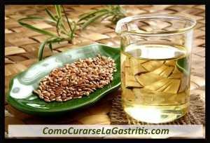 linaza para la gastritis
