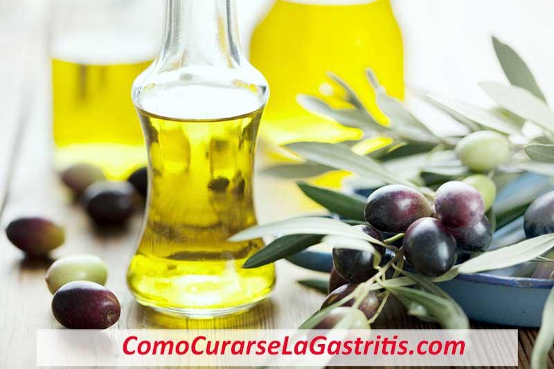 Aceite de Oliva para la Gastritis