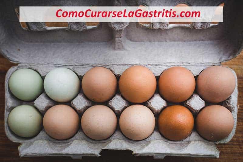 el huevo es malo para la gastritis